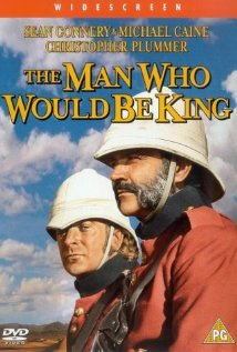 Man who would be king poster
