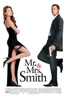 mr and mrs smith poster